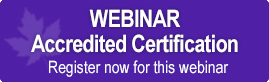 Accredited Certification Webinar
