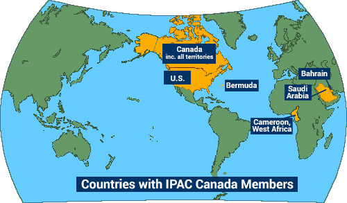 Join IPAC Canada IPAC Canada - Canada map in world map
