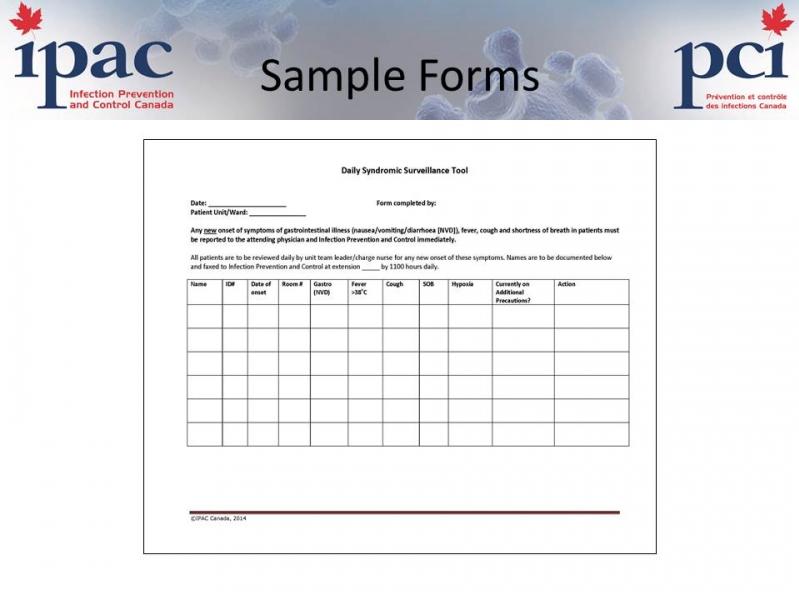 emergency toolkit sample