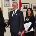 Mandy Deeves, Colin Carrie MP, Kim Allain, Dr. Kathy Suh